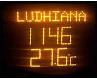 electronic LED display board